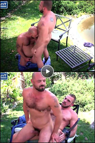 hairy bald guy video